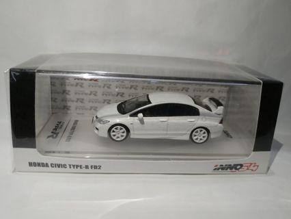 Inno64 Civic FD2 1/64