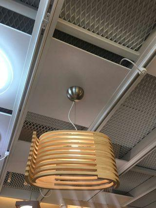 🚚 Wood hanging light