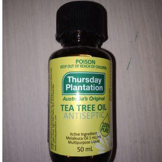 Tea tree oil 50ml by Thursday plantation