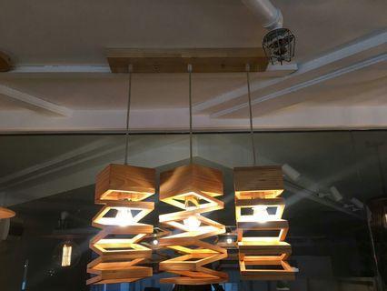 🚚 Wood Pendant Light