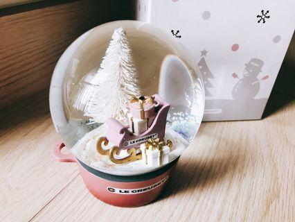 Le Creuset 2018 聖誕水晶球(RQ)