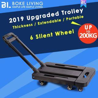 Trolley Compact Foldable One Hand Carry