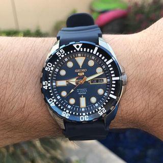 [BNIB] Seiko 5 Sports Automatic 24 Jewels Japan Made SRP605J2 Men's Watch