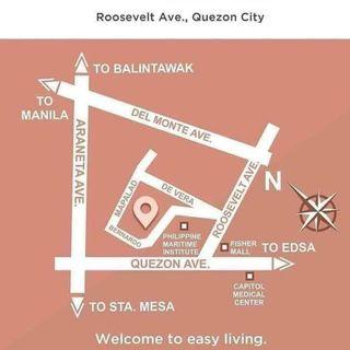 2BR near Fisher Mall and PMI college in Roosevelt ave Quezon City