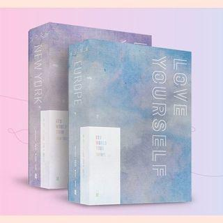 BTS Unsealed Love Yourself in Europe / New York
