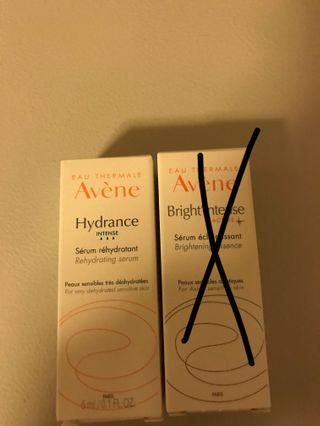 Avene Rehydrating serum & brightening essence