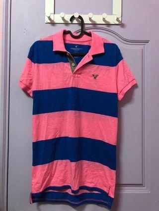 🚚 American eagle outfitters polo Slim fit 老鷹 美國美式 AE 男裝 上衣 polo衫