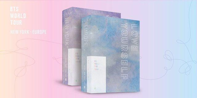 [LOOSE ITEMS] BTS LOVE YOURSELF NEW YORK & EUROPE DVD