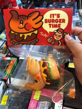 UNBOX  原味芝士漢堡 加強版本 Elfie Cheese Burger 🍔 By Too Natthapong