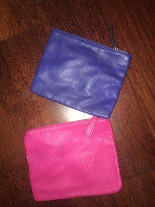 Hot Pink & Electric Blue Mini Clutch Bags #SwapAu