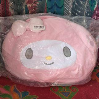 日本直送 三麗鷗饅頭美樂蒂公仔攬枕 咕順 sanrio my melody doll cushion