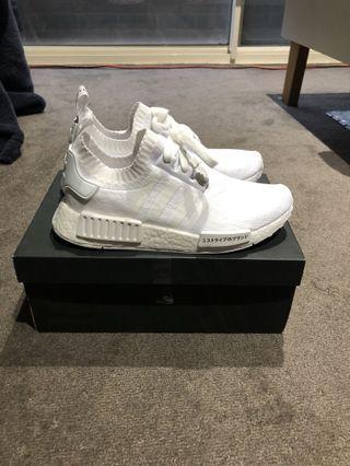 "Adidas NMD R1 Prime Knit ""Japan Triple White"""