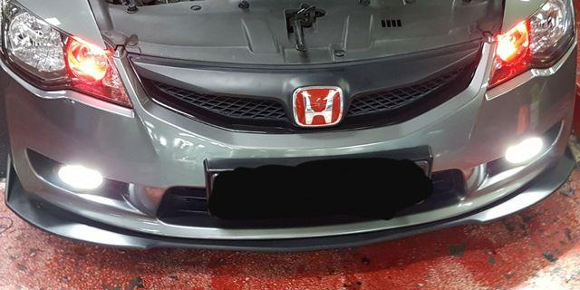 Front lip and side skirt (From FD1)