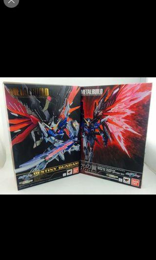 Metal build destiny with wing