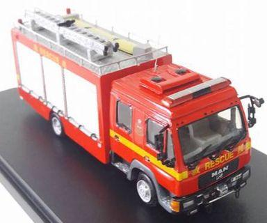 1/76 消防處大槍車 Major Rescue Unit 2000s