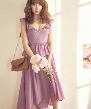 日系 兩件套裝裙