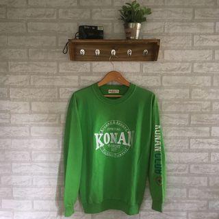 Crewneck/sweater konan club korean fashion bukan H&m