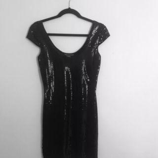 ARMANI EXCHANGE DRESS Sequin Mini Dress Never Worn