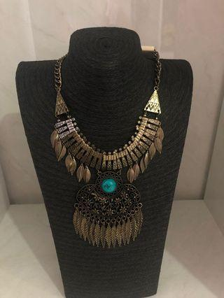 🚚 New statement bohemian necklace