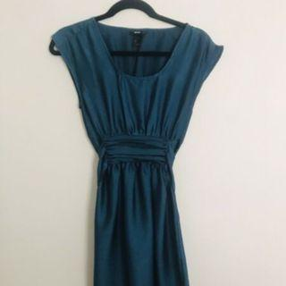 H&M Blue Dress Size AU8 US4