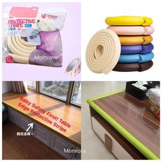 Ready Stock! 💎MUST HAVE For Baby💎Brand New In Pack 2 Meter Baby Bumper - Baby Children Toddler Safety First - Table Edge Corner Furniture Anti Bump Safety Guard Protective Stripe - Various Colour