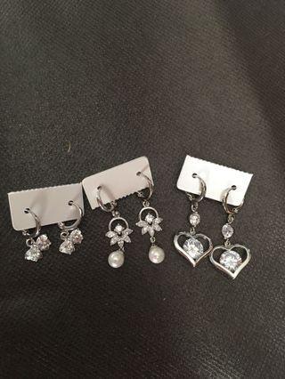 Earrings take it all