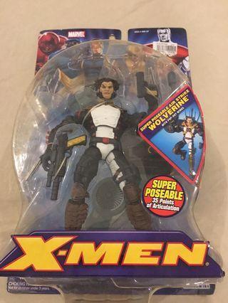 Air Strike Wolverine MOC Action Figure from Toy Biz X-Men