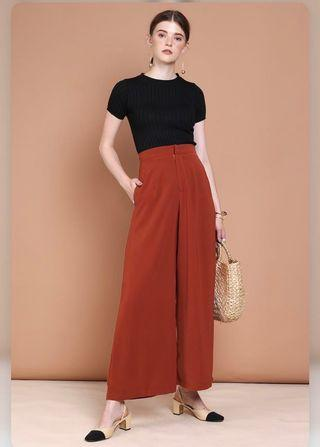 Thedesignclosets rust culottes