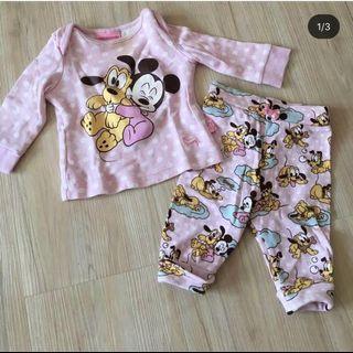 Piyama Baby Disney 3-6 bln
