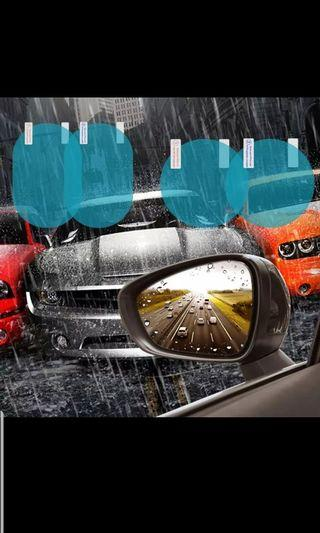 Brand New: Anti water fogging flim for side mirrors