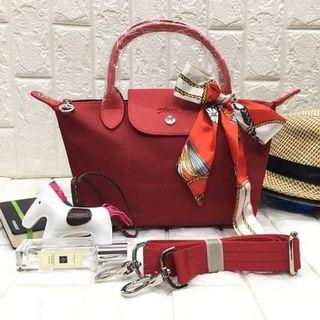 Handbags with twilly and rodeo medium size