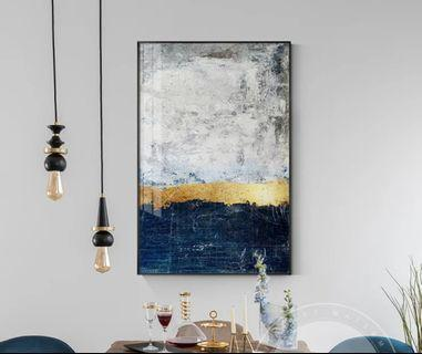 In stock - Abstract canvas painting