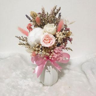 Eternity in Vase | Preserved Flowers Arrangement || Birthday | Farewell | Graduation | Surprise | Proposal | Home Decor | Wedding Decor | Congratulations