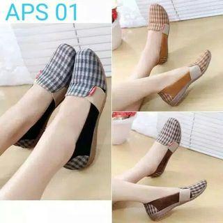 Flat Shoes Slip On Ap 11