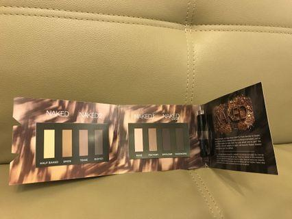Urban decay naked eye shadow & mascara