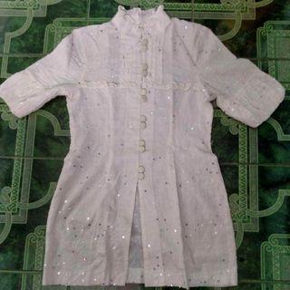Dress White Manik Seken Bagus