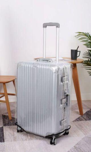 Luggage cover全透明超厚22寸/28寸行李喼行李箱保護套