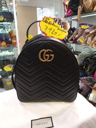 Gucci GG Marmont backpack 同新一樣