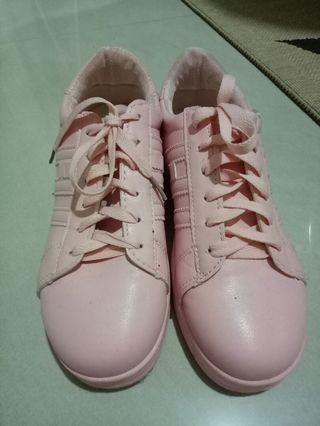 Pink Casual Shoes (size 4)