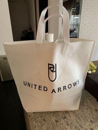 全新United Arrows 帆布購物袋