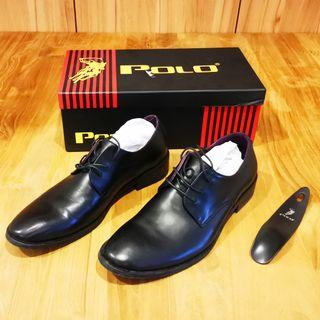Polo Leather Shoes (Original, Like New Condition), Size 40, US7 or US8