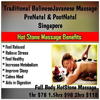 Body Hotstone Massage