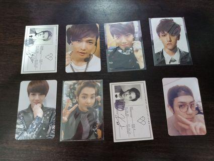 WTT//WTS EXO PHOTOCARDS