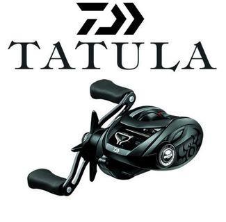 🚚 Daiwa Tatula 100HL 2018 with Tatula rod
