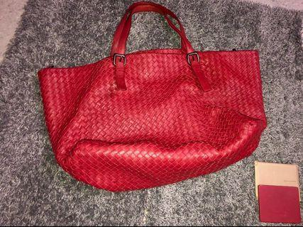bv cesta large bag red