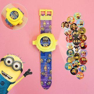 2 in 1 Projector Watch for Children Gift