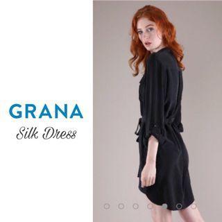 GRANA   Silk Shirt Dress