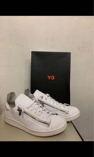 Y-3 Y3 白鞋仔 Zip