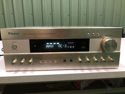 Amplifier karaoke/videoke