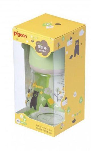 Pigeon Glass Milk Bottle
